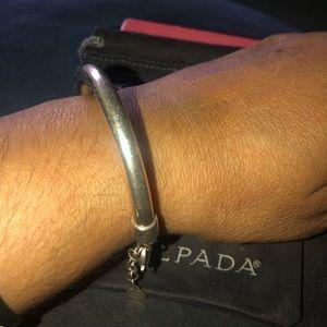 """Silpada B2824 - Work it Cuff Bracelet - 2 1/2"""" di"""